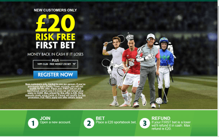 Paddy Power £20 Free Bet + Free Weekly £10 Bet Screenshot