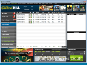 Screenshot of the holdem loby