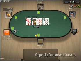 Poker Game Screenshot