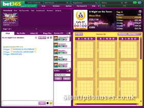 Bingo Chat and Loby Screenshot